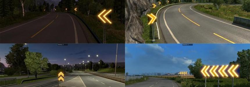 Dangerous turn lights for Scandinavian DLC v1.0