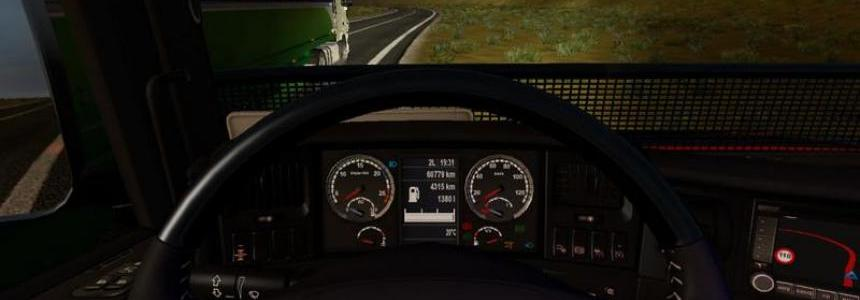 Dashboard for Scania T v2.0