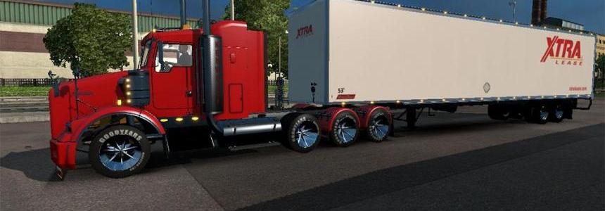 DC-Xtra Lease American Trailer Skin 01