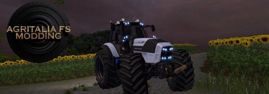 Deutz Fahr 7250 White Edition v1.0