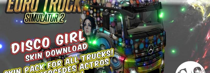 Disco Girl Skin Pack for All Trucks