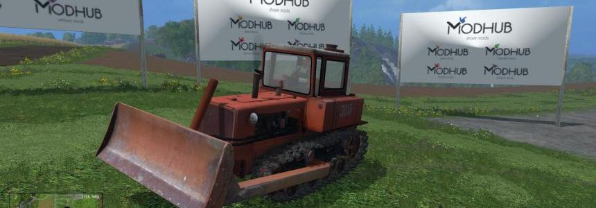 DT-75 tractor and Dozer v1.0