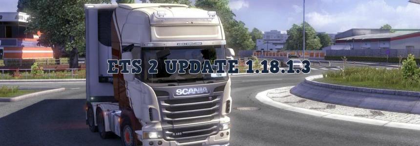 ETS 2 Update 1.18.1.3