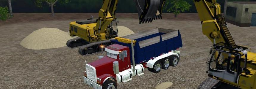 FREIGHTLINER FLD12064SD Dump V1