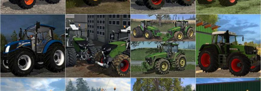 Heavy Tractors Pack