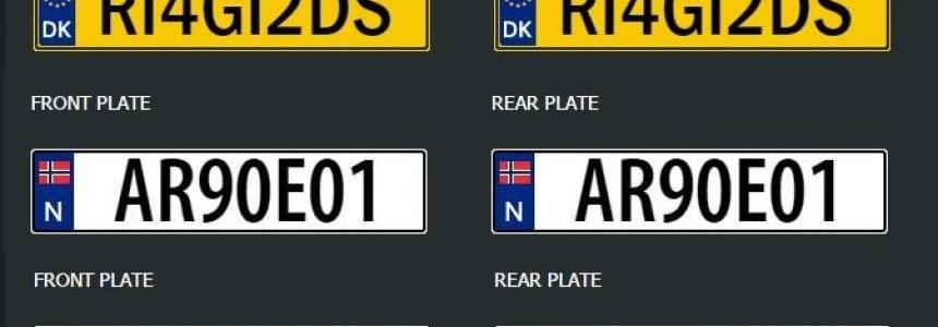 Hot Fix Update and Scandinavian License Plates