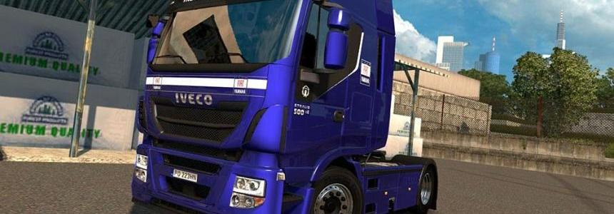 Iveco Hi Way & Stralis Fiat Yamaha Team Edition Skin
