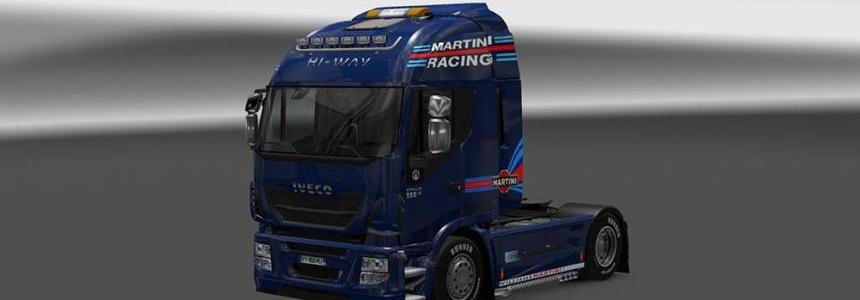 Iveco Hi Way Williams Martini Racing Skin