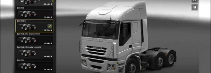 Iveco Stralis 750 hp Engine (SP/MP)