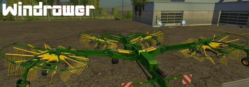 John Deere 1300 Windrower v1.0