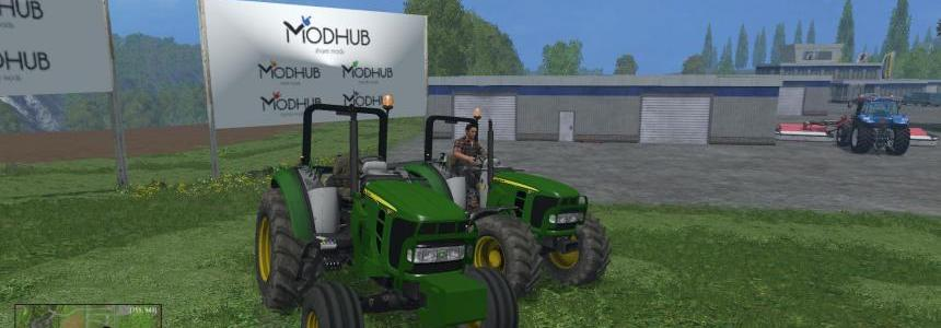 John Deere 5055 Pack v1.0 Edited