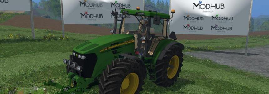 John Deere 7920 Tractor v1.0