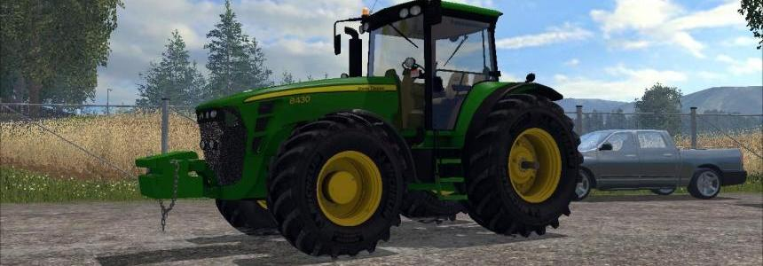 John Deere 8430 Weight v2.0