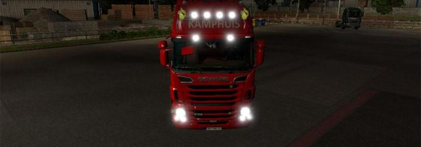 Kamphuis Transport skin for RJL scania