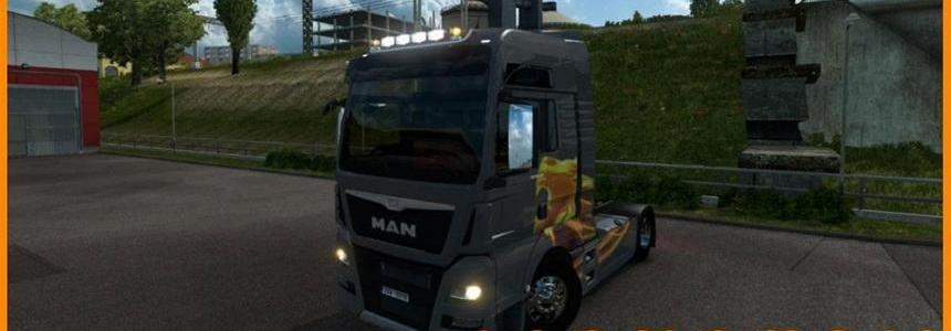 MAN Euro 6 100 Years Edition skin Beta