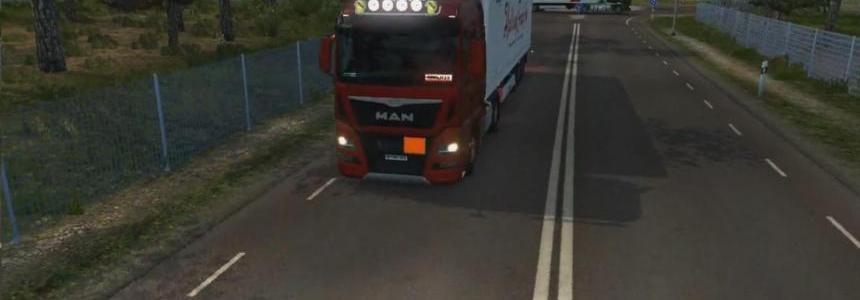 MAN Euro6 + Addons