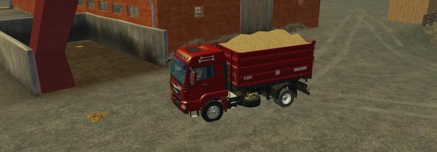 Man TGS 18 440 With Bratner E8041 Tipper V1