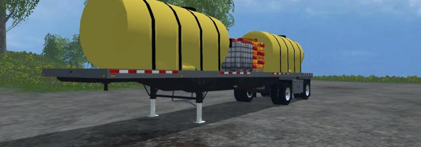 Manac Flatbed Fertilizer Trailer v1.0