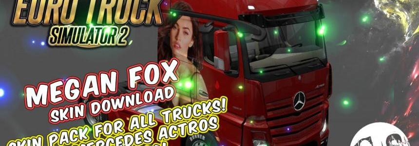 Megan Fox Skin Pack for All Trucks