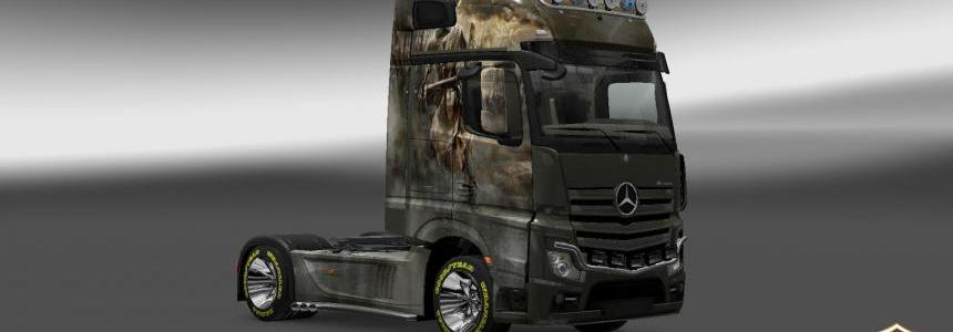 Mercedes Actros MP4 2014 Crusade Skin