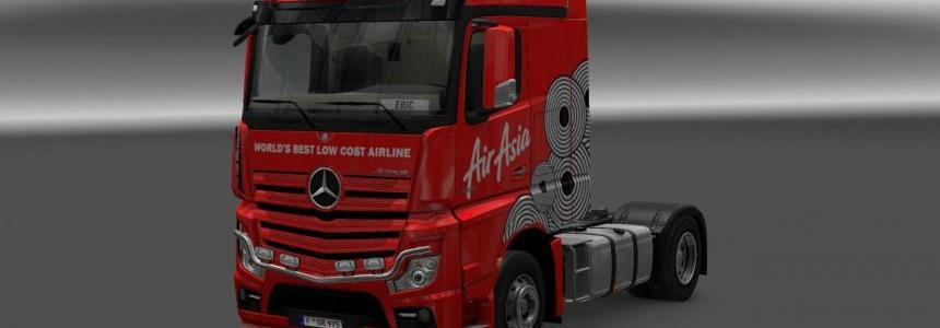 Mercedes Actros MP4 AirAsia v1.0