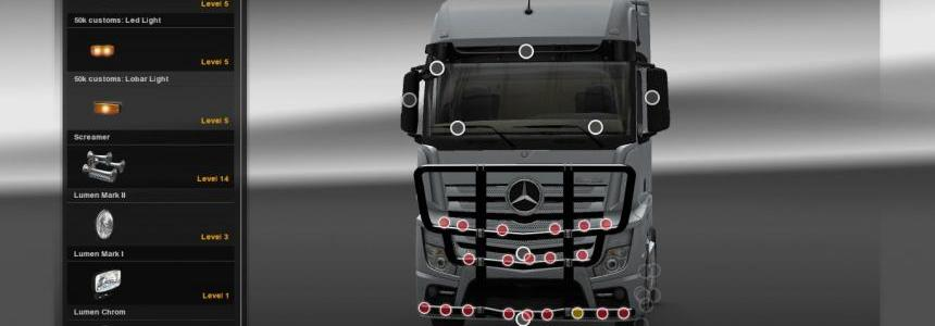 Mercedes Actros MP4 Bullbar