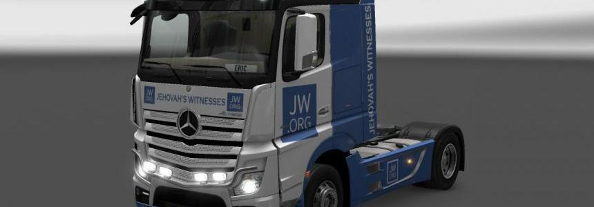 Mercedes Actros MP4 JW.org v1.0