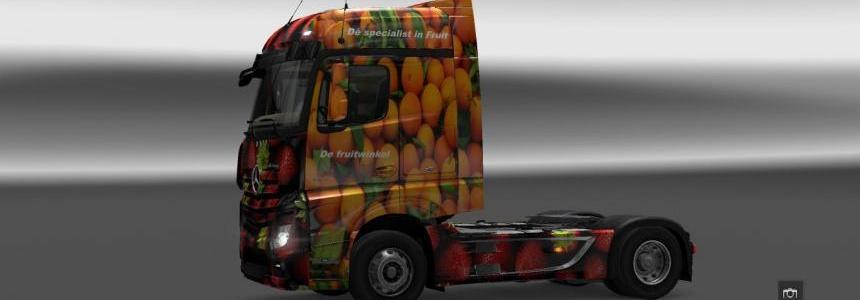 MB Actros 2014 BigSpace De fruitwinkel
