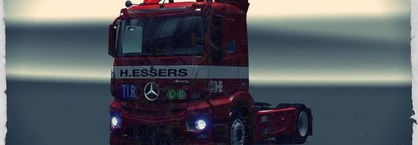 Mercedes Benz Antos 12 H.Essers Skin