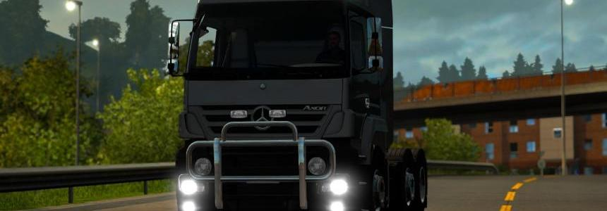 Mercedes-Benz Axor Test on 1.18.1 version