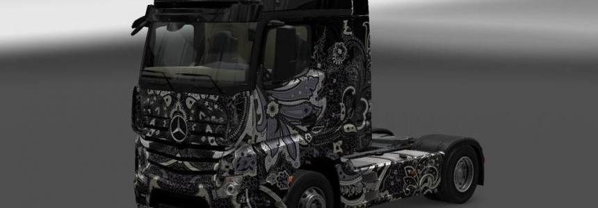 Mercedes Benz Batik Indonesia Skin