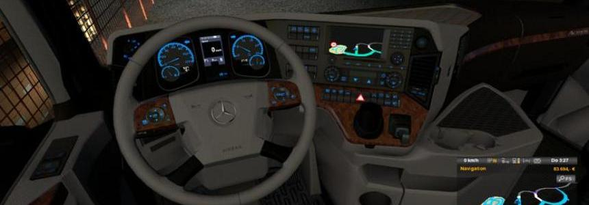 Mercedes Benz MP4 Dashboard + Interior v1.0