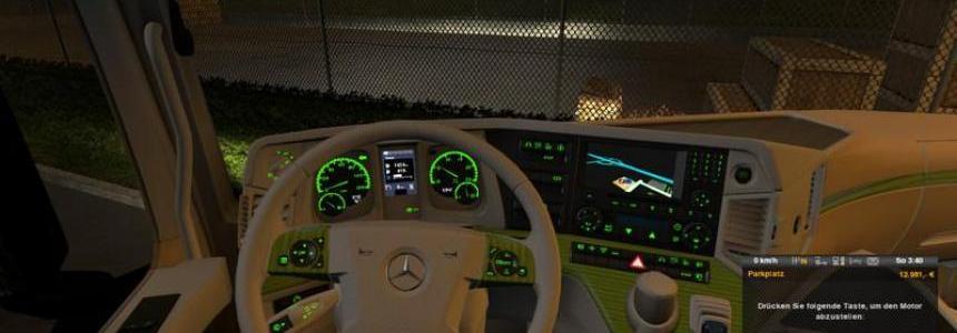 Mercedes Benz MP4 White Green v1.0
