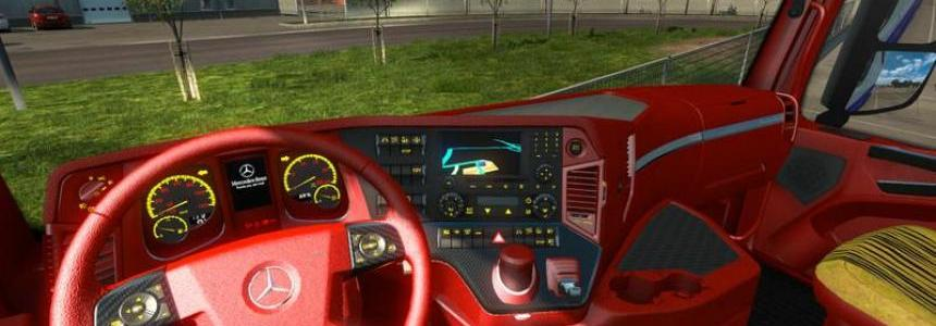 Mercedes Benz Red leather v1.0
