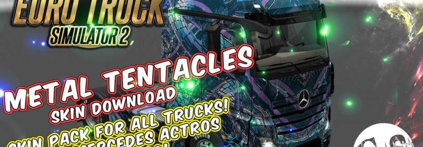 Metal Tentacles Skin Pack for All Trucks