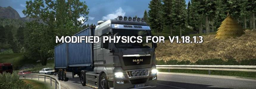 Modified physics for v1.18.1.3