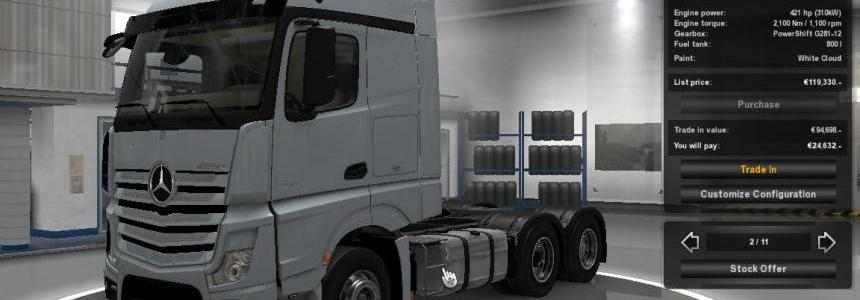 New Actros Extra Fuel & Stability