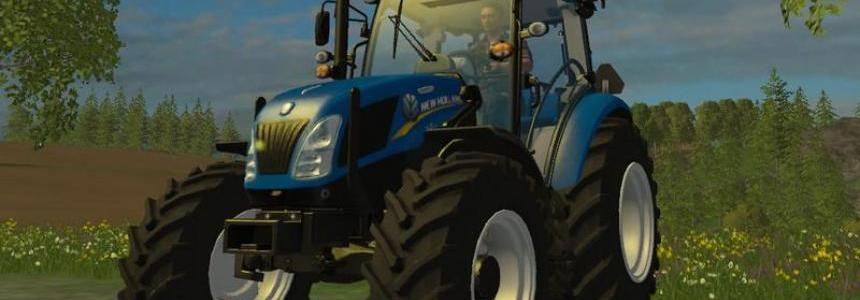 New Holland 115 T4 v1.0 grun