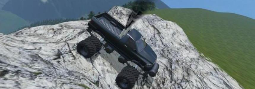 Rambows 145 Monster truck improved Car v1.0
