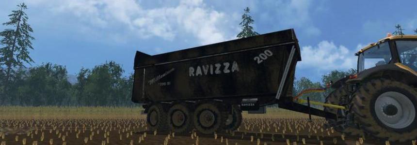 Ravizza Millenium 7200 v1.0 black