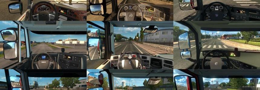 Real Interior Cams ETS 2 v1.3