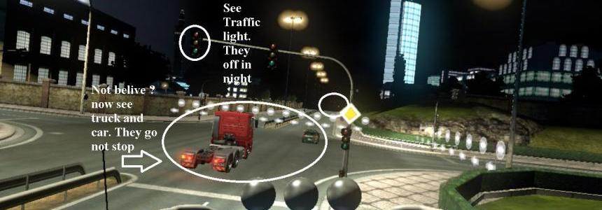 Realistic Traffic Light