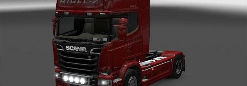 RIGEL-Z skin for Scania Streamline