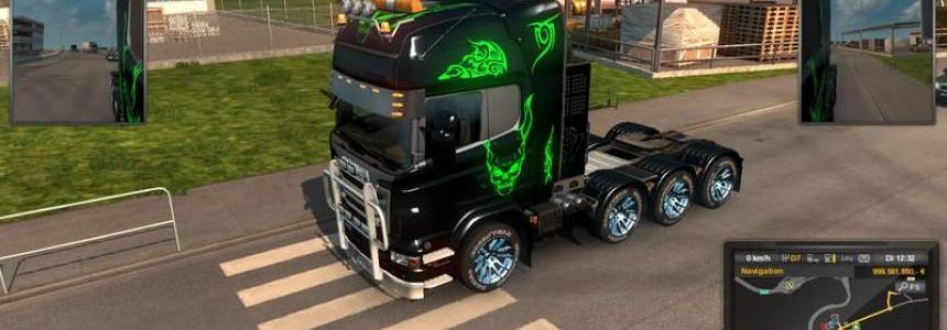 Scania heavy duty mod pack v1.0