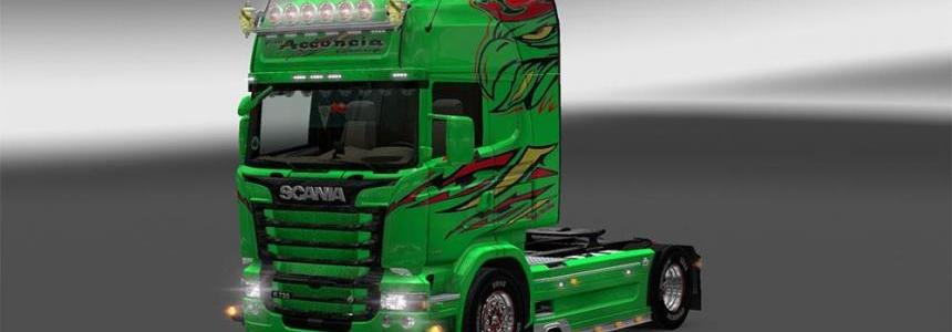 Scania RJL – Acconcia Group Paintjob