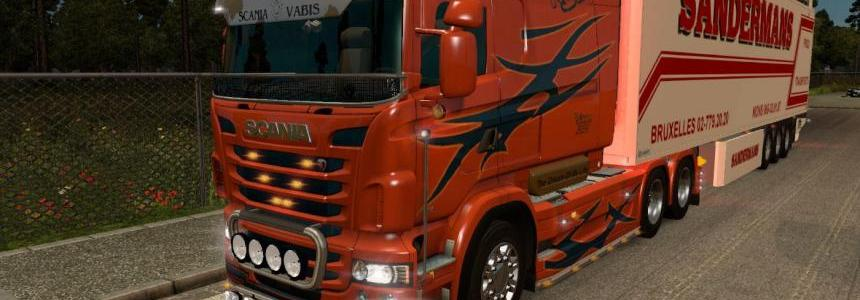 Scania RJL All chassis + 2 Skins