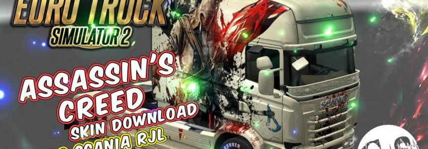 Scania RJL Assassin's Creed Skin