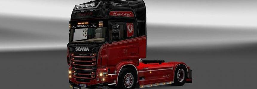 Scania RJL Legend Is Live Skin