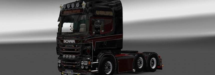 Scania RJL Old School Bastard Skin