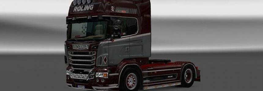 Scania RJL Roling Skin v1.0